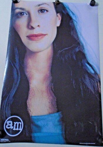 """Alanis Morissette - Original Poster #339 / Exc. new cond. / 23 x 35"""" / """"1999"""""""