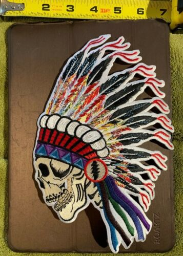 GRATEFUL DEAD - Wes Lang - Spring 1990 patch - Limited Edition
