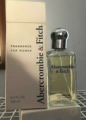 Womens Vintage Abercrombie & Fitch Classic Signature Perfume 3.4 oz Rare SPRAY