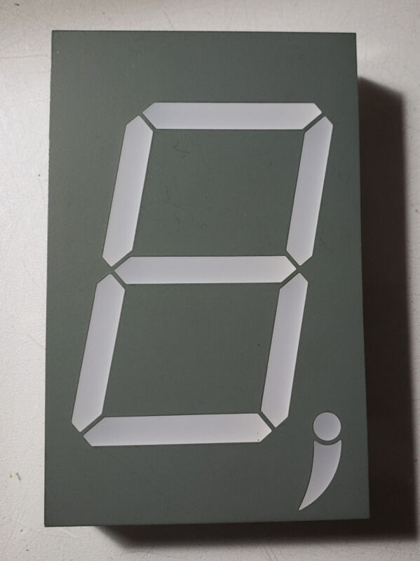 """3"""" High Red 7 Segment LED Display One Digit USA shipping"""