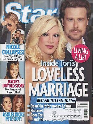 Tori Spelling   Nicole Richie   Star Magazine   9 14 09   Jaycee   Mila Kunis