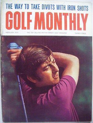 Golf Monthly Magazine - February1973 GolfMonthly Magazine -JOHN GARNERCover