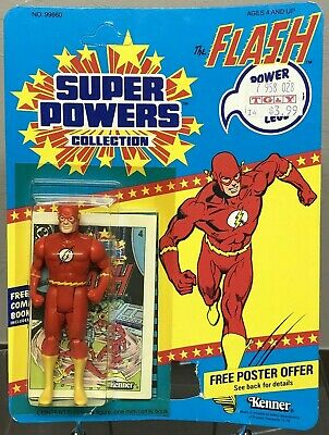 MOC 1984 THE FLASH DC SUPER POWERS KENNER U/P