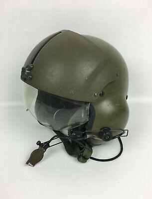 GENTEX SPH-4 Helicopter Pilot Military US Army Flight Helmet with Visor OD