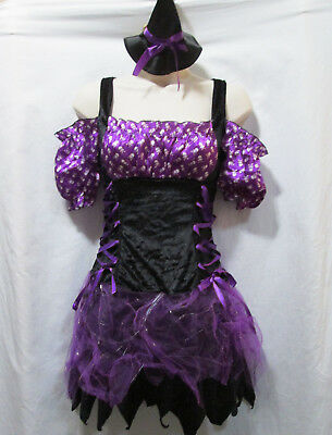 Juniors XS / Girls L SWITCH WITCH Halloween Dress-Up Costume - Switch Witch Costume