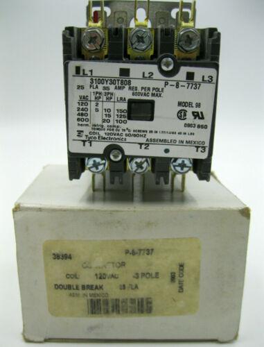 New Box Model 98 Tyco Electronics 38394 - P-8-7737 Contactor 3100Y30T808 Lennox