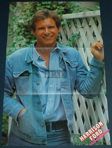 HARRISON FORD 1979 Japan Pinup Poster 10x16 tj/y