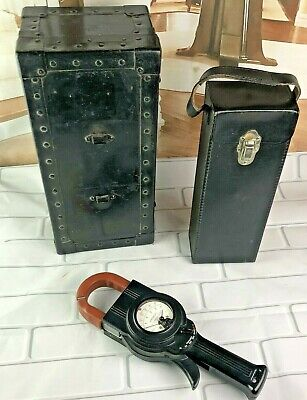 Vtg Weston 633-60 Clamp On Ac 500 Amp Bakelite Meter Electricians Electrical Usa