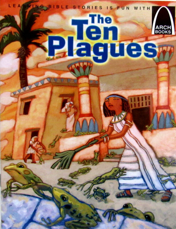 ARCH BOOKS The Ten Plagues (pb) by Concordia Publishing House NEW