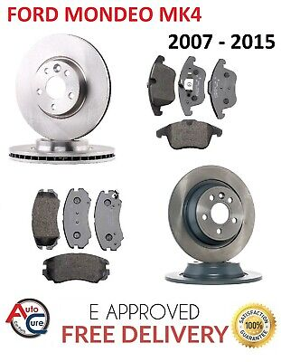 FORD FIESTA /& FUSION FRONT BRAKE DISCS AND PADS 2002-2009 PREMIUM QUALITY