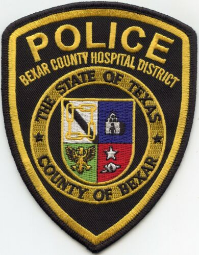 BEXAR COUNTY TEXAS TX full color HOSPITAL DISTRICT POLICE PATCH