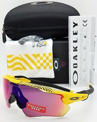 NEW Oakley Radar EV Path sunglasses Yellow Tour de France Prizm Road 9208-6938 for sale  Shipping to Canada