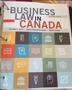 Business law in Canada 11th edition