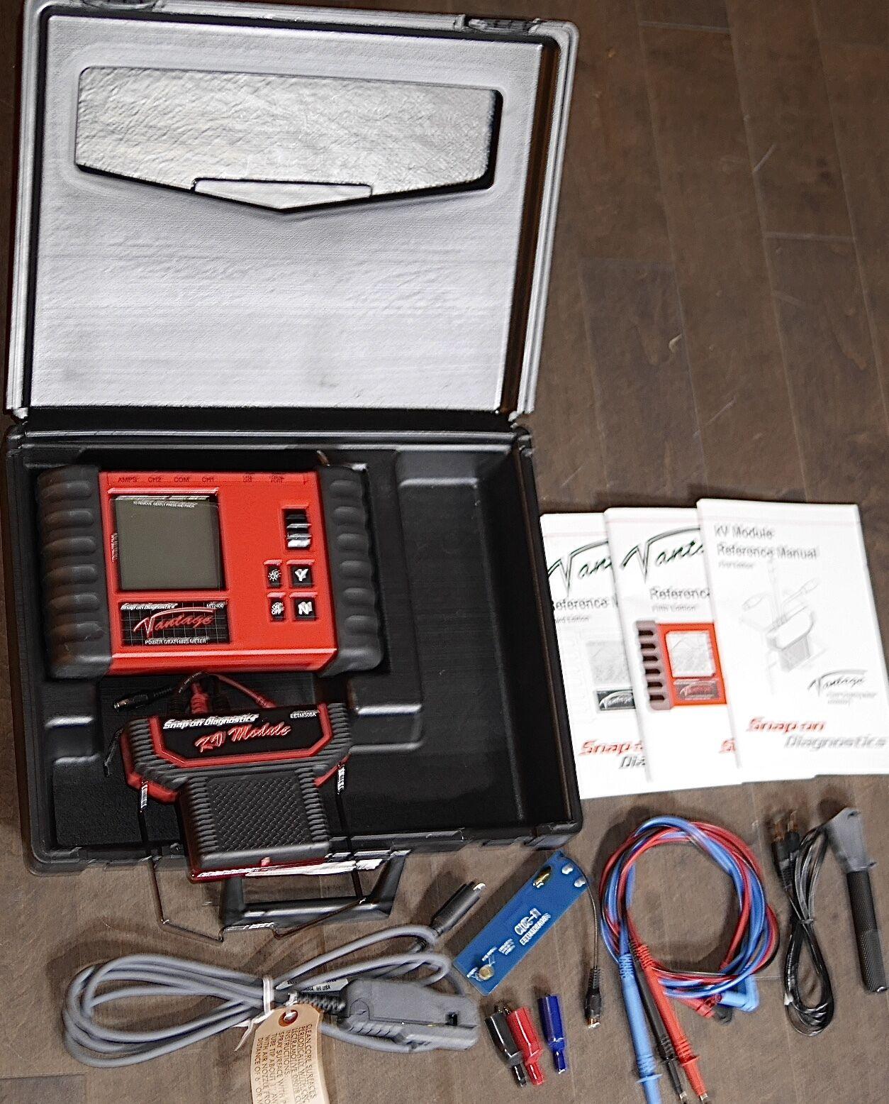 Snap On Mt2400 Vantage Diagnostic Power Graphing Meter/kv