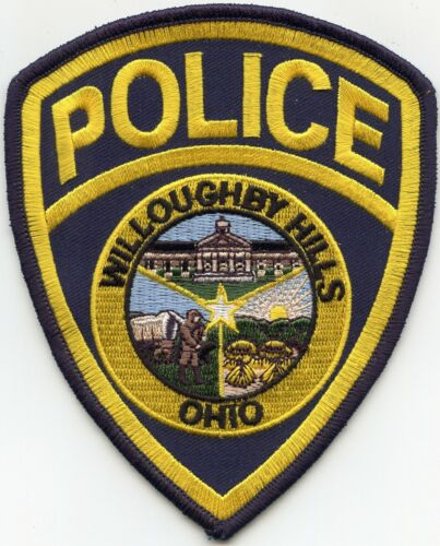 WILLOUGHBY HILLS OHIO OH POLICE PATCH