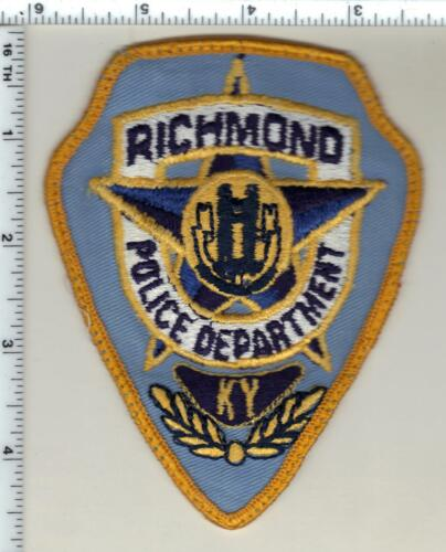 Richmond Police (Kentucky) uniform take-off patch - from the 1980