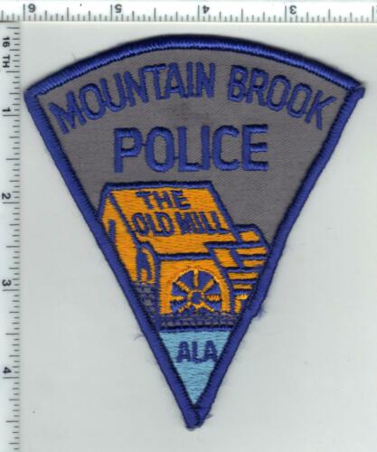 Mountain Brook Police (Alabama) 1st Issue Shoulder Patch