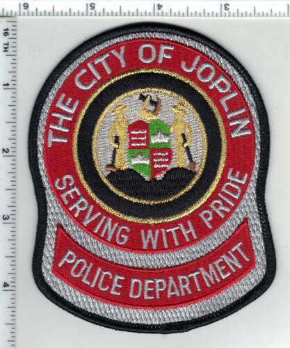 Joplin Police (Missouri) Black Border Shoulder Patch - new
