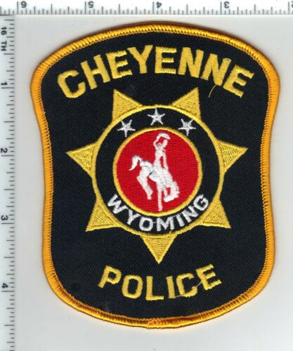 Cheyenne Police (Wyoming) 3rd Issue Shoulder Patch