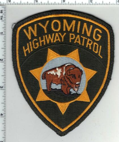 Highway Patrol (Wyoming) 1st Issue Uniform Take-Off Shoulder Patch