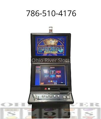 IGT G20 Game King Slot Machine KENO, POKER, SLOTS (Ticket Printer, COINLESS)