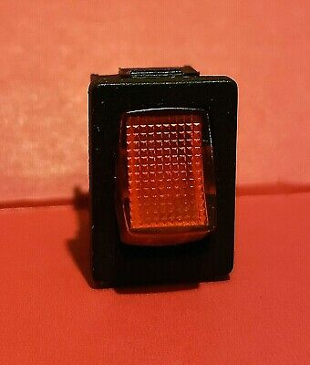 Sci Mini Red Led Switch Onoff T85 R13-66 16a 12v Rv Camper Truck Van Auto Boat