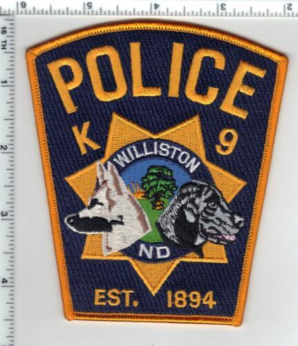 Williston Police (North Dakota) 1st Issue K-9 Shoulder Patch