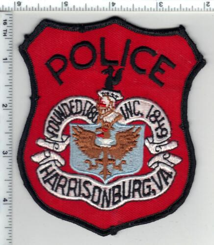 Harrisonburg Police (Virginia) 3rd Issue Shoulder Patch