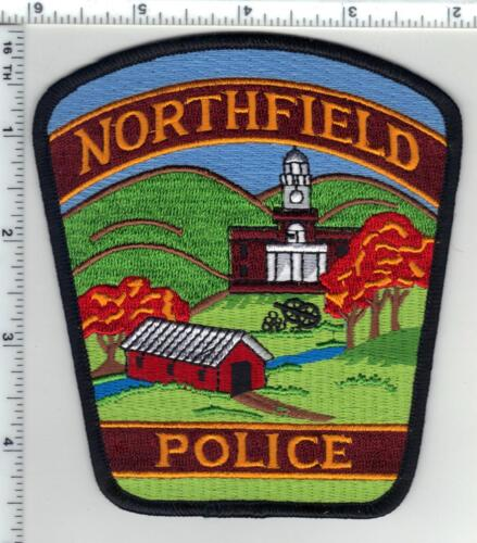 Northfield Police (Vermont) Shoulder Patch from the 1980