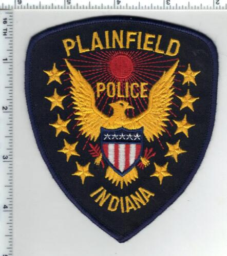 Plainfield Police (Indiana)  Shoulder Patch - new from the 1980s