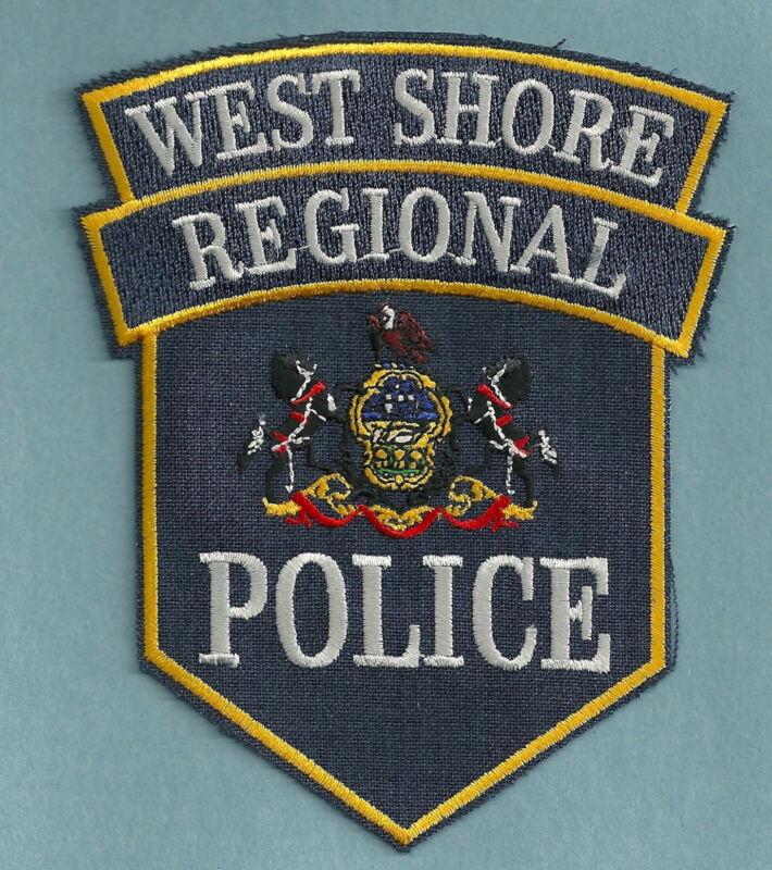 WEST SHORE REGIONAL PENNSYLVANIA POLICE SHOULDER PATCH