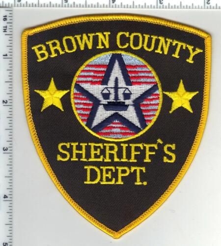 Brown County Sheriff (Wisconsin) 2nd Issue Shoulder Patch