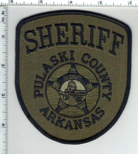 Pulaski County Sheriff (Arkansas) 1st Issue Camo Shoulder Patch