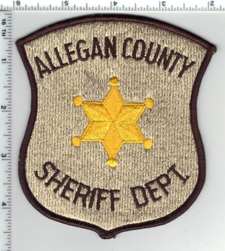 Allegan County Sheriff (Michigan) Shoulder Patch from the 1980