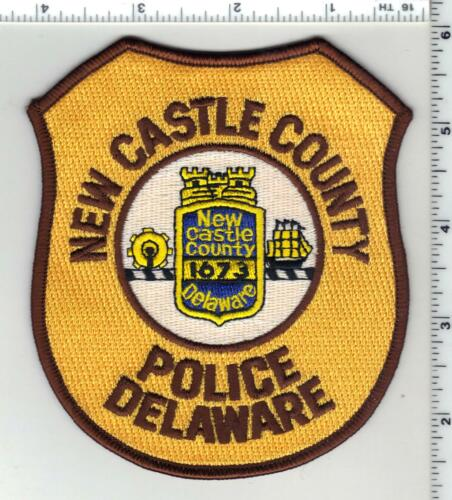 New Castle County Police (Delaware) 7th Issue Shoulder Patch