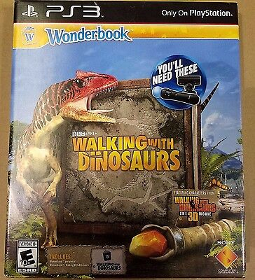 Wonderbook  Walking With Dinosaurs  Sony Playstation 3  2013   New In Box