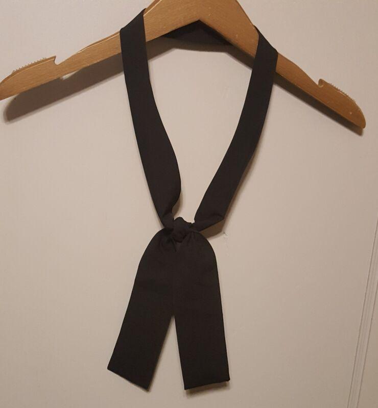 Black Waffle House Server Knotted Tie Necktie Uniform SUG 73413 PO # 1363822