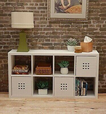 ✅for BARBIE IKEA new KALLAX 2x4 shelf FURNITURE accessory HOUSE diorama 1/6