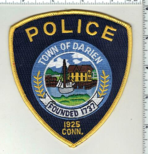 Darien Police (Connecticut) 2nd Issue Shoulder Patch