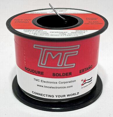 6040 Solder Wire Sn60 Pb40 0.031 0.8mm 2 Rosin Core 7oz 200g Us Seller