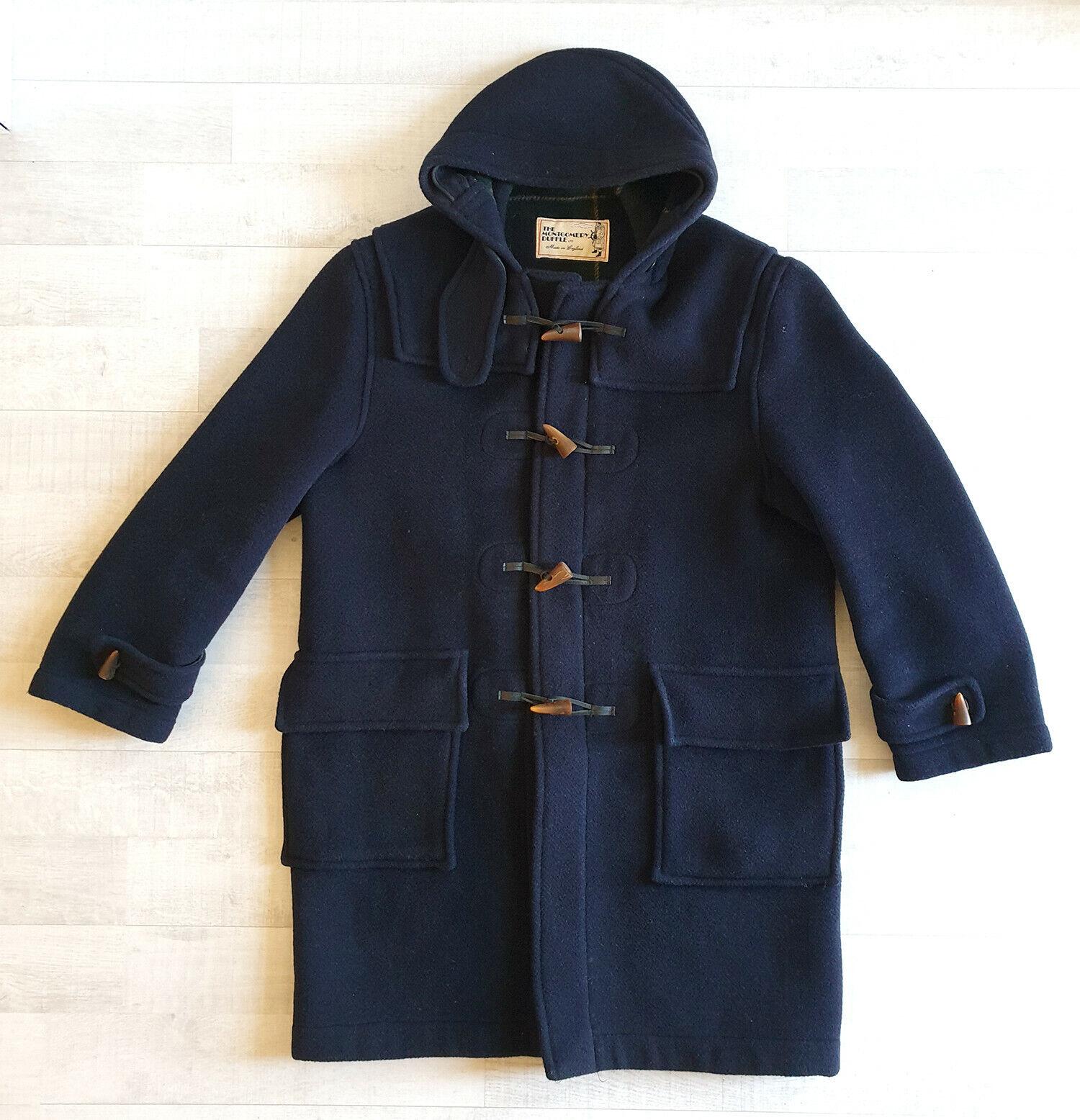 Manteau duffle coat taille l (52) homme montgomery bleu marine