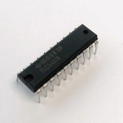 Tlc540in Analog To Digital Converter 8-bit Texas Instruments Pdip-20