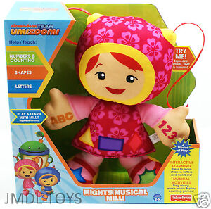 Team-Umizoomi-MIGHTY-MUSICAL-MILLI-PLUSH-DOLL-12-H-INTERACTIVE-SINGS-TALKS-NEW