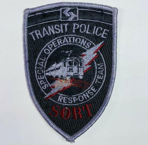 SEPTA Police Southeastern Pennsylvania Transportation Transit SORT Patch (A2)