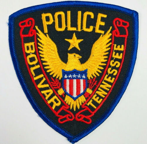 Bolivar Police Tennessee TN Patch (A3)