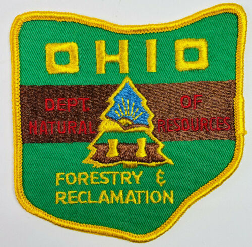 Ohio Department Of Natural Resources Forestry & Reclamation DNR OH Patch (A6-A)