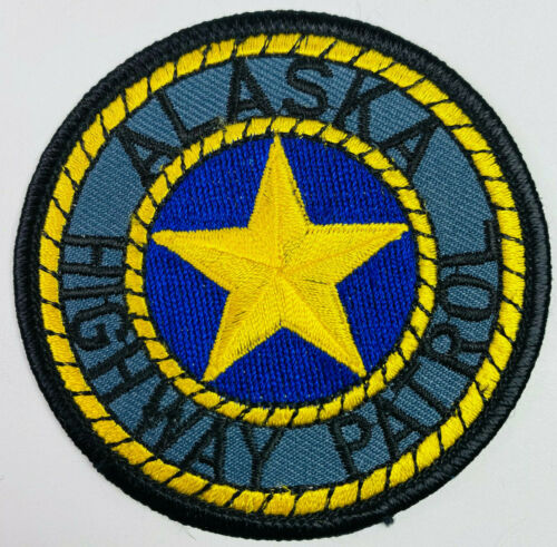 "Alaska Highway Patrol State Police Trooper AK Patch 2.75"""