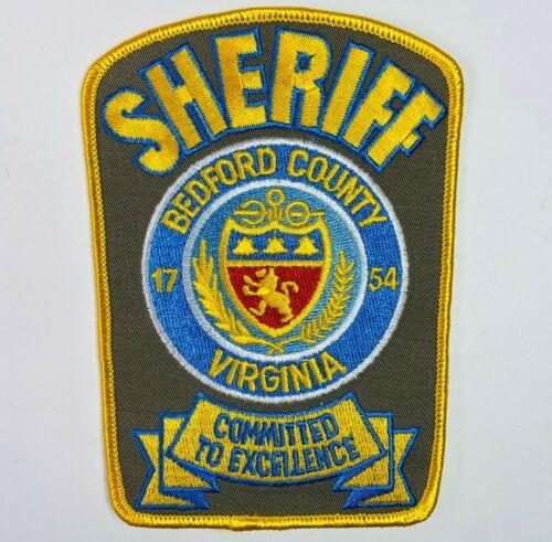 Bedford County Sheriff Virginia VA Patch (C2)