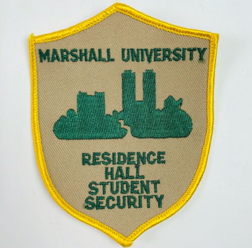 Marshall University Residence Hall Student Security West Virginia Patch (A5)