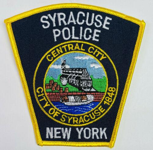 Syracuse Police New York NY Patch (A5)